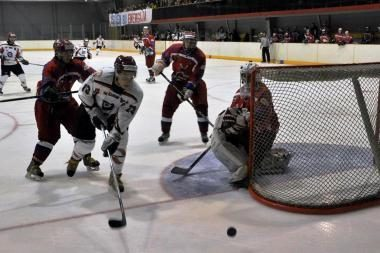 Elektrėnų ledo ritulininkai iškovojo 8-ą pergalę