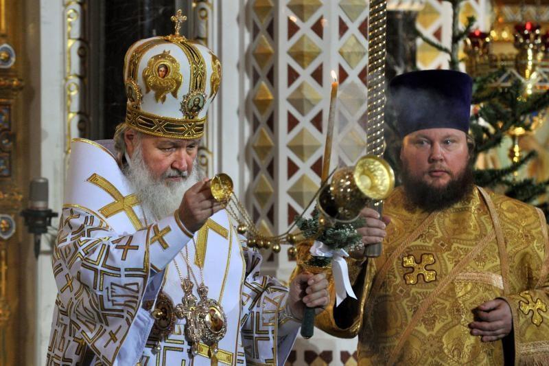 Patriarchas Kirilas sukritikavo valstybės ir Bažnyčios sąmokslo mitą
