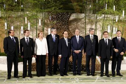 Japonijoje prasidėjo Didžiojo aštuoneto susitikimas