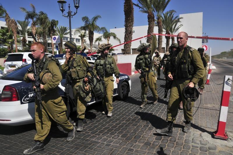 Į Izraelio pajūrio kurortą Eilatą - raketos iš Sinajaus