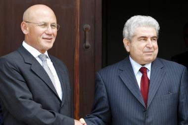 Kipro lyderiai susitiko pastūmėti taikos derybas