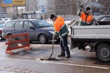 Gatvių priežiūrai 2010-2012 metais skirta 36,8 mln. litų