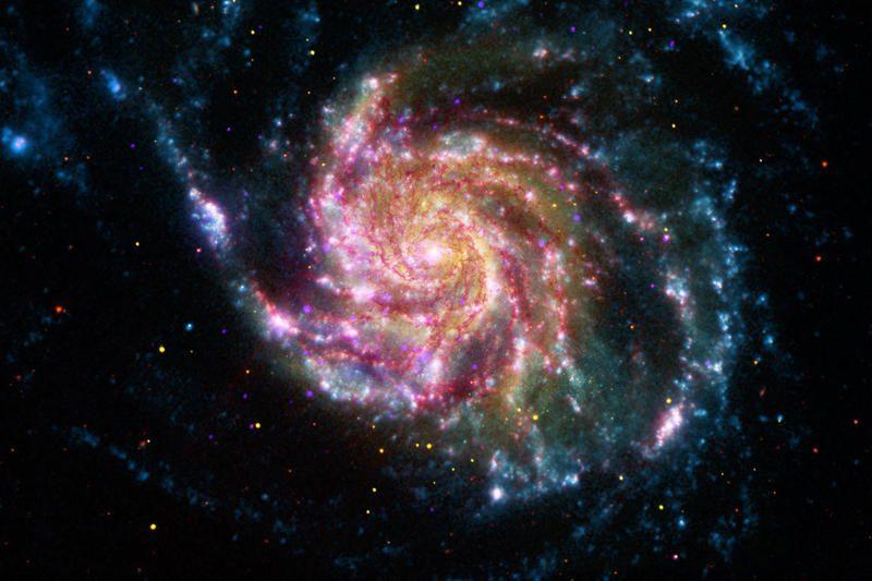 Atskleidė audringą Paukščių Tako praeitį