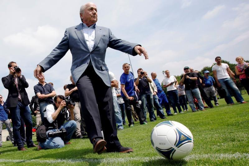 Vokiečius prajuokino FIFA prezidento kontrataka