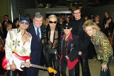 """""""Scorpions"""" muzikantai liko patenkinti darbu su Kauno orkestru"""