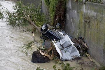 Prancūzijoje kilo potvynis