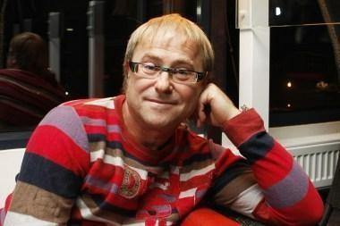 Floristas S.Kaminskas susikrovė paskutinius lagaminus