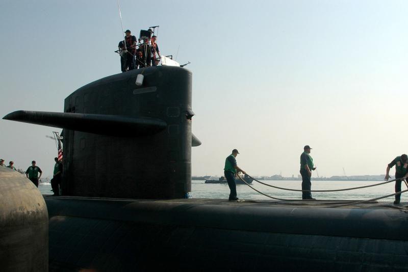 JAV atominiame povandeniniame laive kilo gaisras