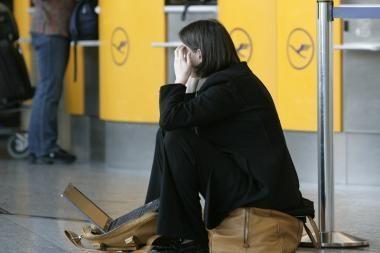 Aviacijos sutrikimai priklausys nuo daugelio sąlygų