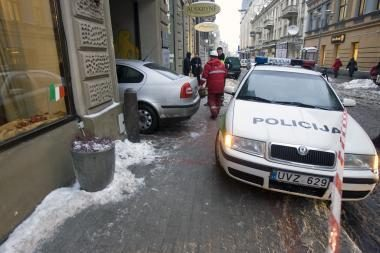 Elektra Vilniaus centre trankėsi be priežasties