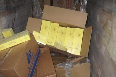 Kontrabandinės cigaretės gabentos net iš Kazachstano