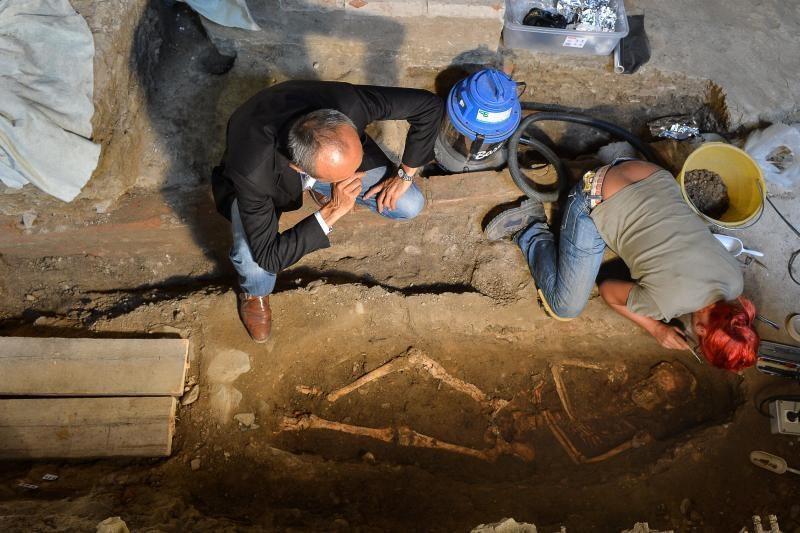 Italų archeologai tikriausiai prisikasė iki tikrosios Monos Lizos