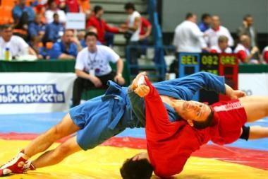 Kaune – pasaulio studentų sambo čempionatas