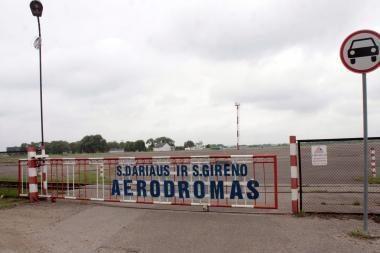 Vagystė S.Dariaus ir S.Girėno aerodrome