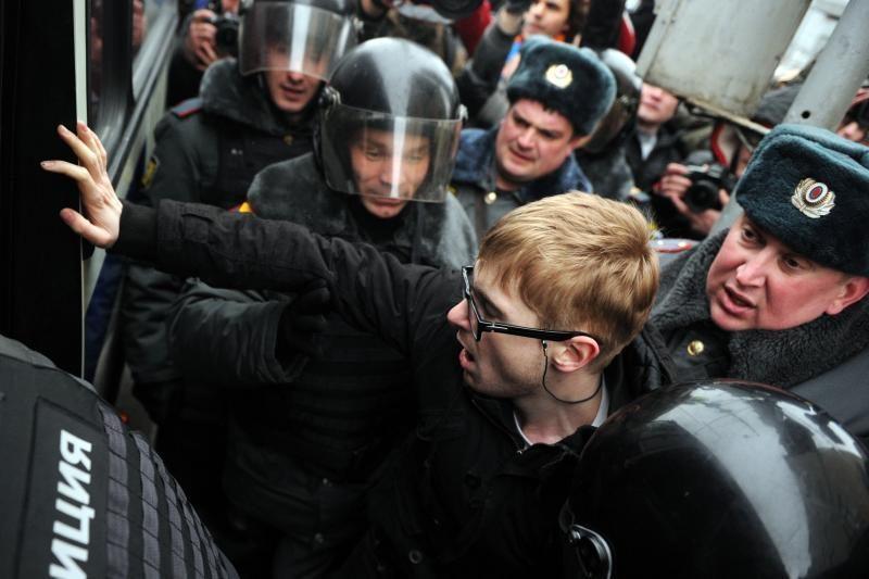 Su nusikalstamumu Maskvos gatvėse kovos kazokai