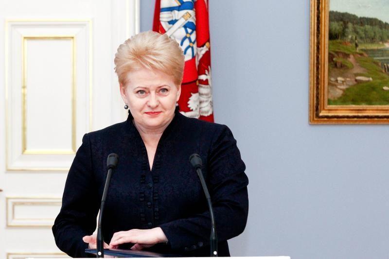 Prezidentė: Lietuvos banko užduotis – išvalyti finansų sistemą