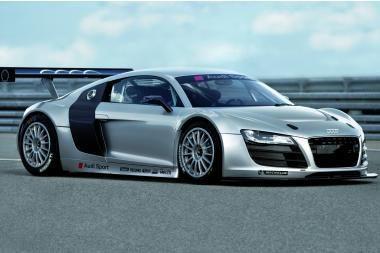 """Lenktyninė """"Audi R8"""" versija"""