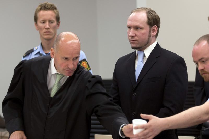A.B. Breivikas neskųs nuosprendžio, jei bausmę turės atlikti kalėjime