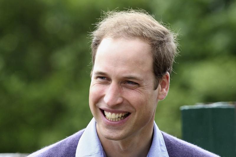 Princas Williamas Škotijoje įšventintas į riterius