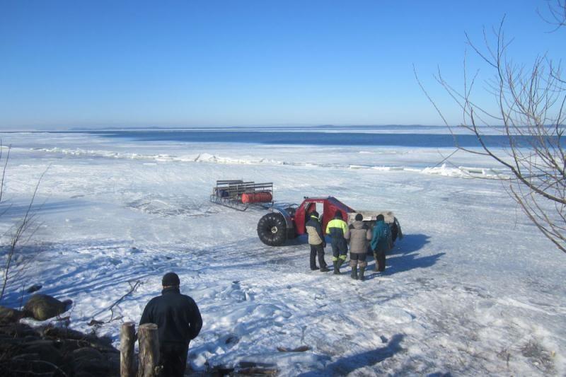 Dėl pavojaus žvejams susirūpinę pasieniečiai prašo pagalbos