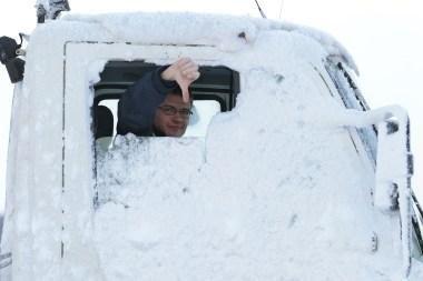 Savaitgalį į ligonines paguldyta dešimtys sušalusių žmonių