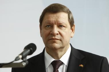 Dviračiu per Baltarusiją minantis premjeras A.Kubilius susitiks su kolega S.Sidorskiu