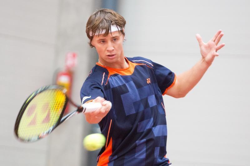 R. Berankis ATP serijos teniso turnyre baigė pasirodymą