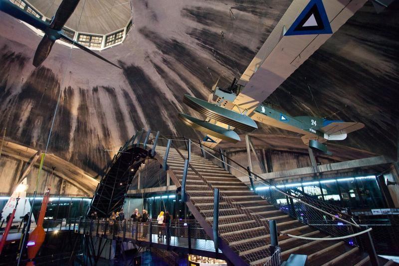 """""""Hidrolėktuvų uosto"""" muziejus Taline smalsuolius traukia it magnetas"""