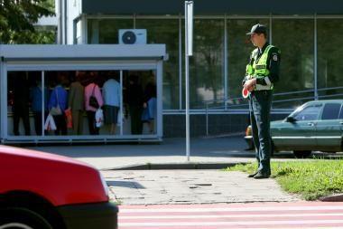 Savaitgalį kelius akylai stebės policija