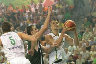 S.Stonkus: rūpesčių čempionate gali kelti vidurio puolėjo pozicija