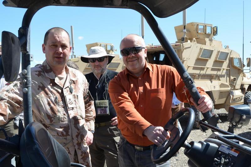 Ministras J. Olekas savaitę viešės Afganistane