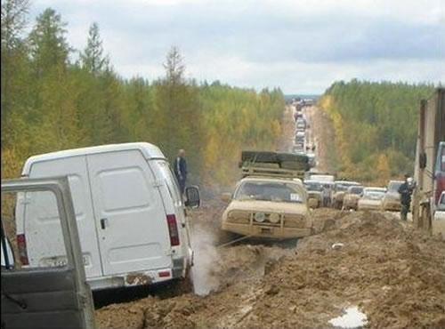 Kelias į pragarą Rusijoje: Lenos automagistralė M56