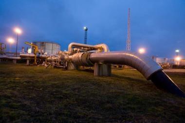 Rusijos naftos išteklių sumažėjo per pusę