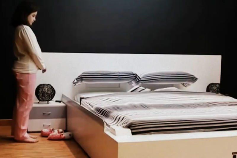 Jau pardavinėjama pati pasiklojanti lova