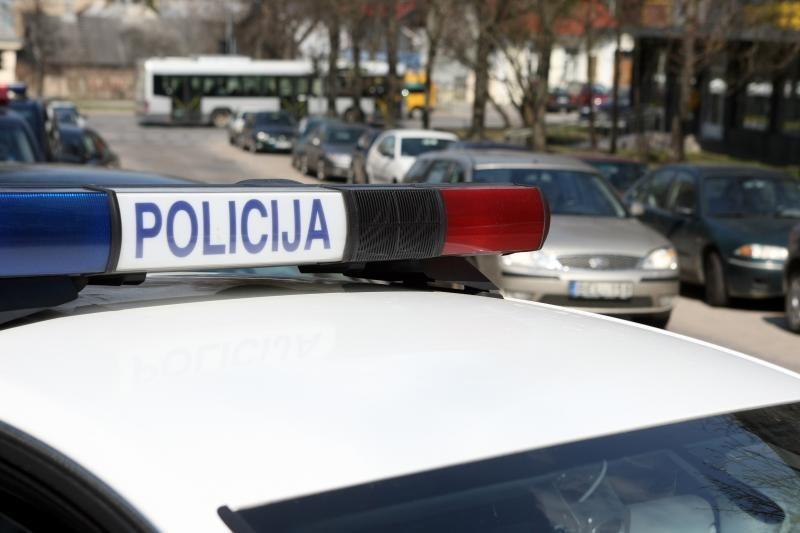 Per grumtynes Vilniuje nukentėjo du policininkai