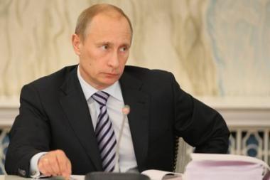 V.Putinas: M.Chodorkovskis sėdi pelnytai