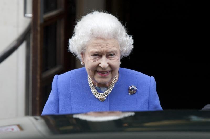 Elizabeth II dalyvavo Sandraugos lyderiams surengtuose pietuose