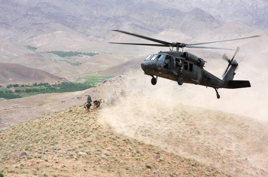 Trečiadienį lietuvos kariai Afganistane buvo apšaudyti
