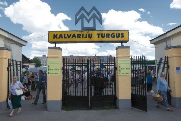 Kalvarijų turguje vėl nustatyta pažeidimų