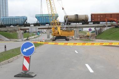 Atidaromas Klaipėdos keleivių terminalui svarbus viadukas