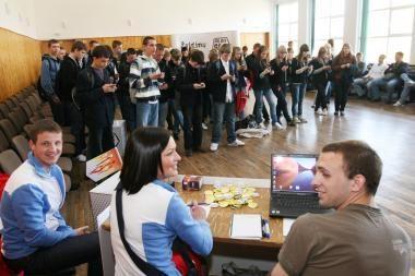 SMS lenktynės - Klaipėdoje