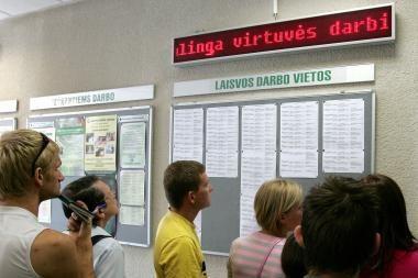 Klaipėdos darbo biržoje skelbiamos laisvos darbo vietos