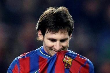 Geriausias planetos futbolininkas - argentinietis Lionelis Messi