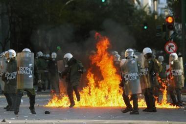 Graikija išgyveno dar vieną neramumų dieną