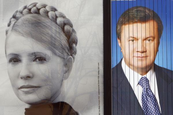 J.Tymošenko kreipsis į teismą dėl V.Janukovyčiaus pergalės prezidento rinkimuose