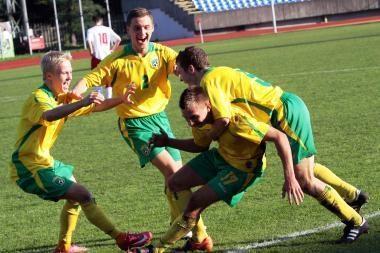 Jaunimo čempionatų atrankos burtuose geriau sekėsi U-17 rinktinei