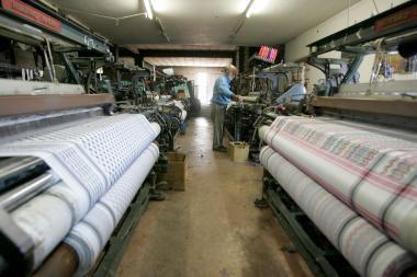 Tekstilės įmonės antrąjį ketvirtį uždirbo rekordinį pelną