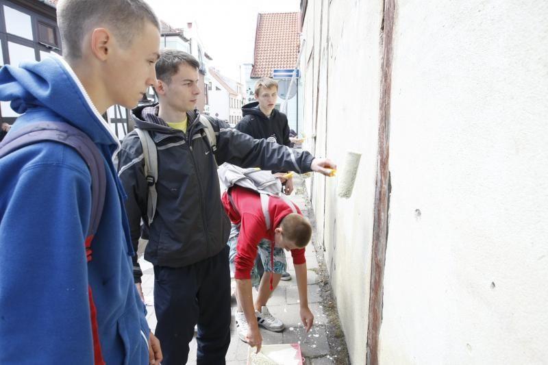 Grafitininkai pasisakė už tvarką