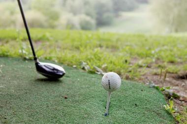 Sostinių golfo klubą okupavo vaikai