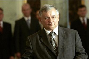 Lenkijos konservatorių lyderis paskelbė boikotą prezidentui ir premjerui